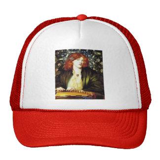 Dante Gabriel Rossetti- The Blue Bower Trucker Hat