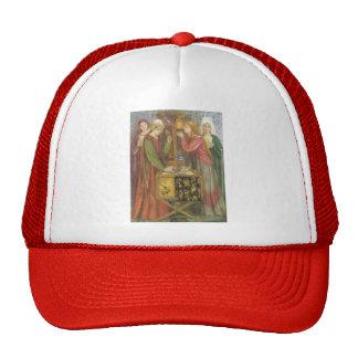 Dante Gabriel Rossetti- The Blue Closet Trucker Hats
