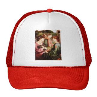 Dante Gabriel Rossetti- The Bower Meadow Trucker Hats