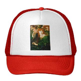 Dante Gabriel Rossetti- TheGarland Trucker Hat