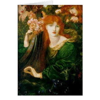 Dante Gabriel Rossetti- TheGarland Card