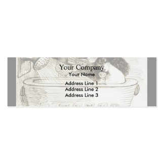 Dante Gabriel Rossetti: The M s at Ems Business Card Template