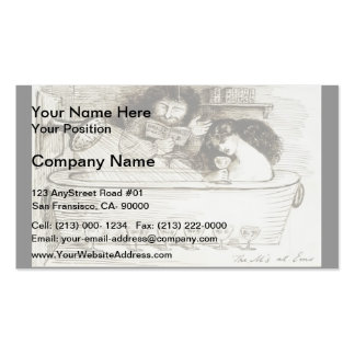 Dante Gabriel Rossetti: The M s at Ems Business Card