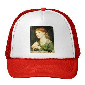 Dante Gabriel Rossetti- The Twig Trucker Hat