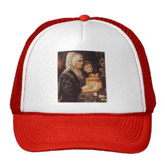 Dante Gabriel Rossetti- The Two Mothers Trucker Hat