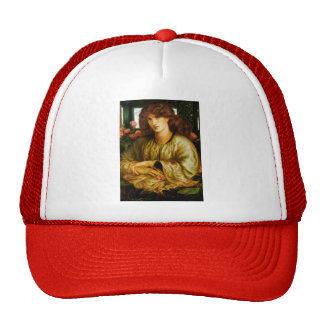 Dante Gabriel Rossetti- The Women's Window Mesh Hat