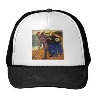 Dante Gabriel Rossetti- Writing on the Sand Trucker Hat