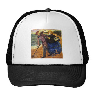 Dante Gabriel Rossetti- Writing on the Sand Trucker Hats