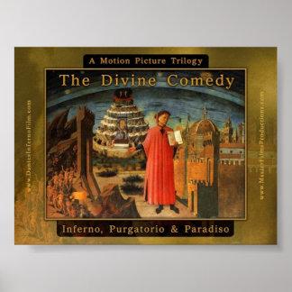 Dante s Divine Comedy Feature Film Trilogy Posters
