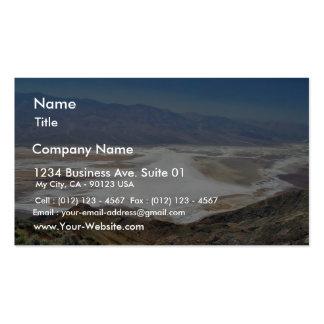 Dante S View Salt Flats Desert Death Valley Pack Of Standard Business Cards