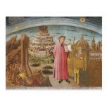 Dante & the Divine Comedy vintage art accessories Postcards