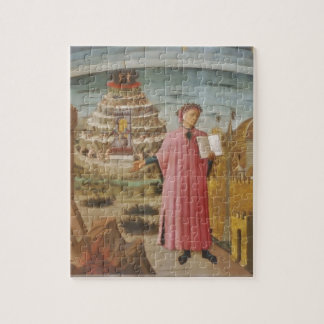 Dante & the Divine Comedy vintage art accessories Jigsaw Puzzles