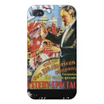 Dante ~ The Mysterious Magician Vintage Magic Act iPhone 4 Covers
