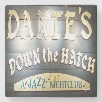 Dante's Down The Hatch Atlanta Marble Stone Coaste Stone Coaster