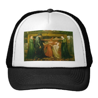 Dante's Dream by Dante Gabriel Rossetti Cap