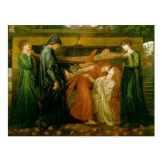 Dante's Dream by Dante Gabriel Rossetti Postcard