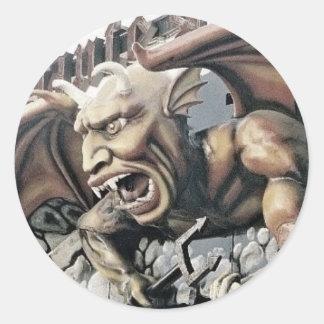 Dante's Inferno Spookhouse Demon Stickers