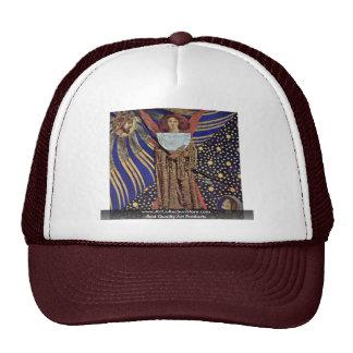 Dantis Amor By Rossetti Dante Gabriel Trucker Hat