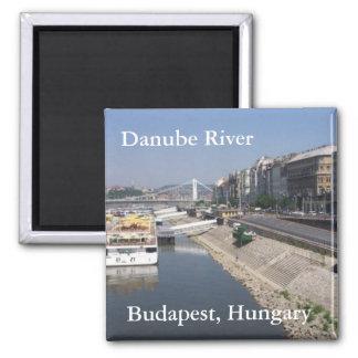 Danube River, Budapest, Hungary Refrigerator Magnets
