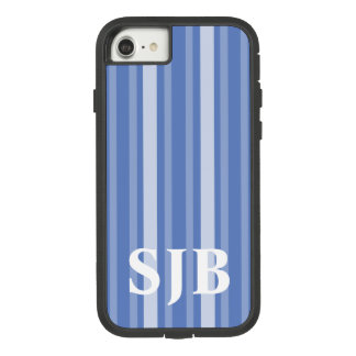 Danube Victorian Stripe with Monogram Case-Mate Tough Extreme iPhone 8/7 Case
