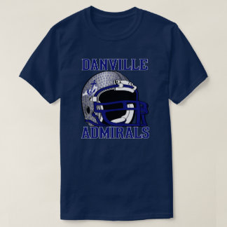 DANVILLE Admirals KENTUCKY FOOTBALL T-Shirt