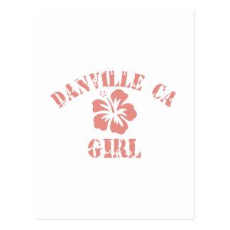 Danville CA Pink Girl Post Cards