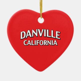 Danville California Christmas Ornament