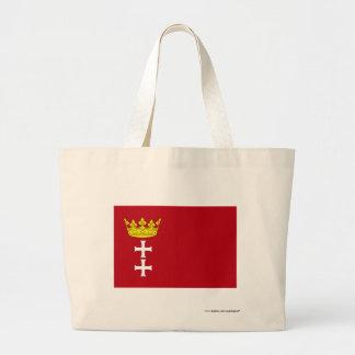 Danzig - Gdansk Flag Tote Bags
