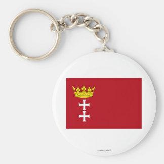 Danzig - Gdansk Flag Key Ring