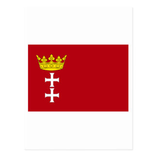 Danzig - Gdansk Flag Postcard