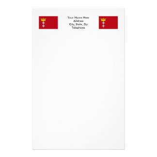 Danzig - Gdansk Flag Stationery