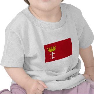 Danzig - Gdansk Flag T-shirts
