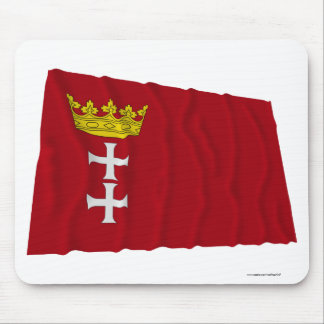 Danzig - Gdansk Waving Flag Mouse Pads