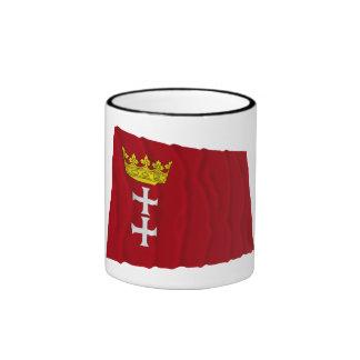 Danzig - Gdansk Waving Flag Mug