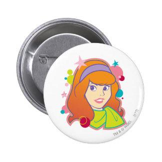 Daphne Pose 18 6 Cm Round Badge