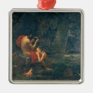 Daphnis and Chloe, 1824-25 Christmas Ornament
