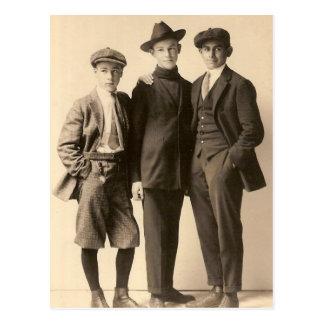 Dapper Boys Postcard
