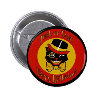 Dapper Cat 6 Cm Round Badge