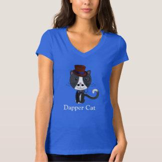 Dapper Cat - Ladies T Shirts