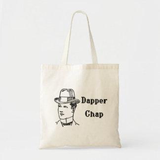 Dapper Chap tote bag