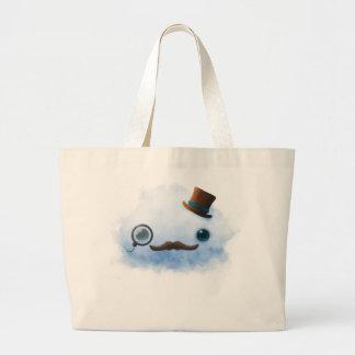 Dapper Cloud Large Tote Bag