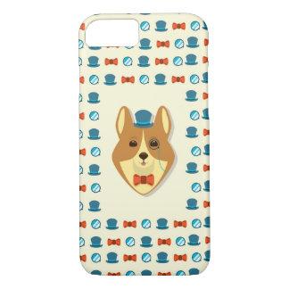 Dapper Corgi iPhone 8/7 Case