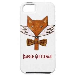 Dapper Fox iPhone case Case For The iPhone 5