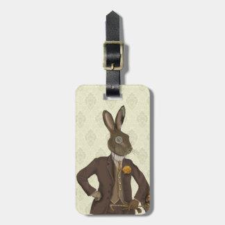 Dapper Hare 2 Luggage Tag