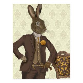 Dapper Hare 2 Postcard