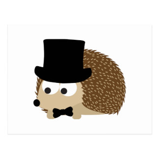 Dapper Hedgehog Postcard