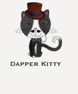 Dapper Kitty T-shirts
