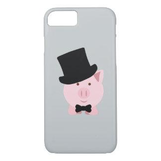 Dapper Pig iPhone 7 Case