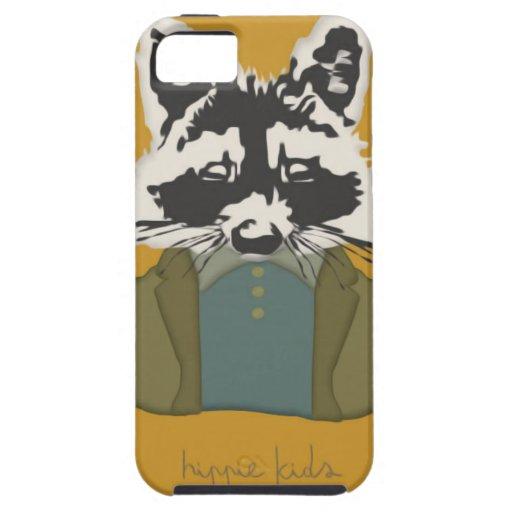 Dapper Raccoon iPhone 5 Cover