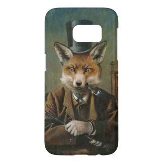 Dapper Victorian Fox Samsung Galaxy S7 Case